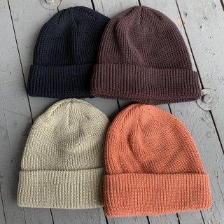 【DECHO/デコー】 KNIT CAP ニット帽 綿100%