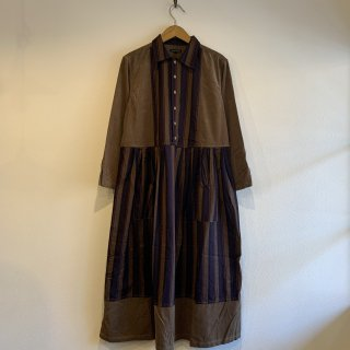 <img class='new_mark_img1' src='https://img.shop-pro.jp/img/new/icons20.gif' style='border:none;display:inline;margin:0px;padding:0px;width:auto;' />【NAPRON】 APRON SHIRTS ONEPIECE  ワンピース