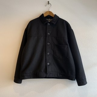 【yoused】 Remake Melton Wide Blouson 90s Deadstock