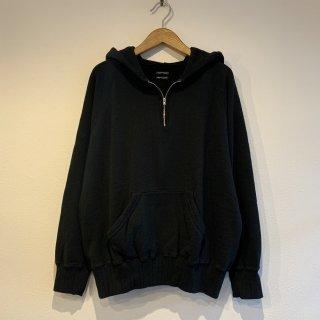 【SUNNY SPORTS】 1/4 Zip Hoodie サニースポーツ BLACK