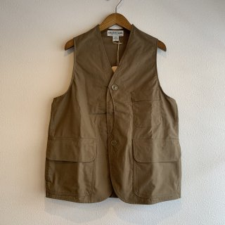 【SASSAFRAS】GARDEN TOUGH VEST C/N DUCK ササフラス