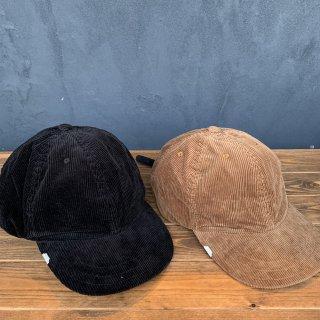 【DECHO×ANACHRONORM】 LEATHER BUCKLE CAP CORDUROY
