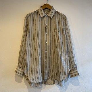 <img class='new_mark_img1' src='https://img.shop-pro.jp/img/new/icons5.gif' style='border:none;display:inline;margin:0px;padding:0px;width:auto;' />【KAPTAIN SUNSHINE】 Regular Collar Shirt -Super Light Patterned Collar Shirt-