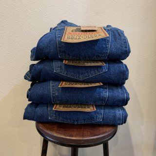 <img class='new_mark_img1' src='https://img.shop-pro.jp/img/new/icons5.gif' style='border:none;display:inline;margin:0px;padding:0px;width:auto;' />【DEADSTOCK】 80-90s BUBBA DENIM フラッシャー付き デッドストック デニム