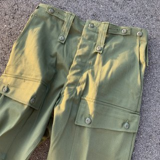 【MILITARY DEADSTOCK】 AUSTRALIAN ARMY FRONT CARGO FATIGUE PANTS