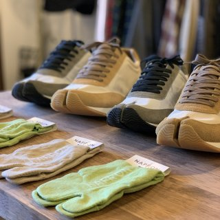 <img class='new_mark_img1' src='https://img.shop-pro.jp/img/new/icons5.gif' style='border:none;display:inline;margin:0px;padding:0px;width:auto;' />【NAPRON】 TABI SNEAKER � 専用 LINEN TABI FOOT COVER