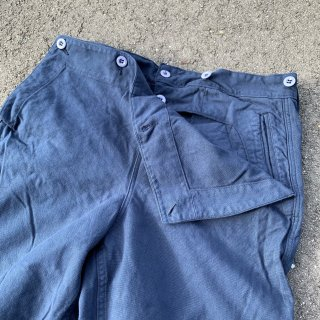 <img class='new_mark_img1' src='https://img.shop-pro.jp/img/new/icons5.gif' style='border:none;display:inline;margin:0px;padding:0px;width:auto;' />【MILITARY DEADSTOCK】 60's FRENCH NAVY SAILOR TROUSERS フランス海軍 セーラーパンツ