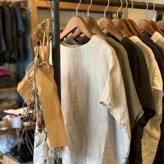 <img class='new_mark_img1' src='https://img.shop-pro.jp/img/new/icons5.gif' style='border:none;display:inline;margin:0px;padding:0px;width:auto;' />【ORDINARY FITS】 LINEN ROUND SHIRTS オーディナリーフィッツ リネン ラウンドシャツ