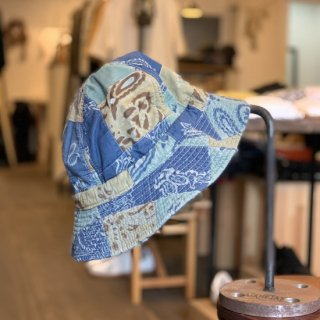 <img class='new_mark_img1' src='https://img.shop-pro.jp/img/new/icons5.gif' style='border:none;display:inline;margin:0px;padding:0px;width:auto;' />【DECHO×ANACHRONORM】 PATCHWORK HUNTER HAT デコー アナクロノーム ハンターハット