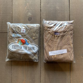 【MILITARY DEADSTOCK】 US ARMY 3PACK トレーニングTシャツ FRUIT OF THE LOOM