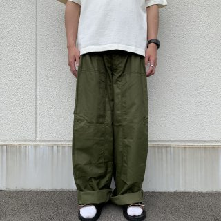 【MILITARY DEADSTOCK】 80's CANADIAN ARMY  WIND OVER PANTS