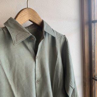 【MILITARY DEADSTOCK】60s チェコ軍 プルオーバー グランパシャツ