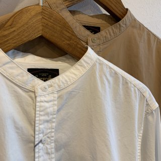<img class='new_mark_img1' src='https://img.shop-pro.jp/img/new/icons5.gif' style='border:none;display:inline;margin:0px;padding:0px;width:auto;' />【SUNNY SPORTS】 ORGANIC STAND WORK LONG SHIRTS