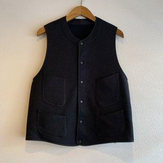 <img class='new_mark_img1' src='https://img.shop-pro.jp/img/new/icons5.gif' style='border:none;display:inline;margin:0px;padding:0px;width:auto;' />【KAPTAIN SUNSHINE】 Cashmere Silk Vest カシミヤ シルク ビーチクロスベスト キャプテンサンシャイン