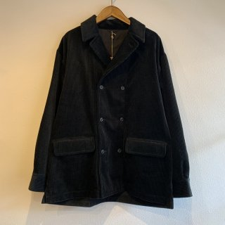<img class='new_mark_img1' src='https://img.shop-pro.jp/img/new/icons47.gif' style='border:none;display:inline;margin:0px;padding:0px;width:auto;' />【KAPTAIN SUNSHINE】Double Breasted Shirt Jacket キャプテンサンシャイン ダブルブレステッド シャツジャケット