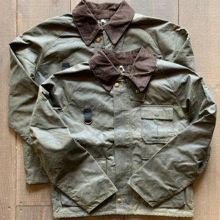<img class='new_mark_img1' src='https://img.shop-pro.jp/img/new/icons5.gif' style='border:none;display:inline;margin:0px;padding:0px;width:auto;' />【yoused】Remake Oiled Fishing Jacket