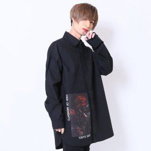 <img class='new_mark_img1' src='https://img.shop-pro.jp/img/new/icons20.gif' style='border:none;display:inline;margin:0px;padding:0px;width:auto;' />【30%OFF】MIND OF MEMENTO Shirt