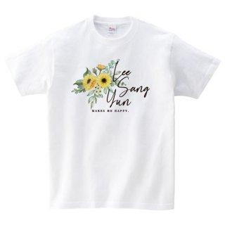 LEE SANG YUN AUTHENTIC TSHIRT FLOWER ver. ホワイト