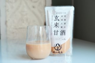 福山商店 北海道のお米と糀 玄米甘酒