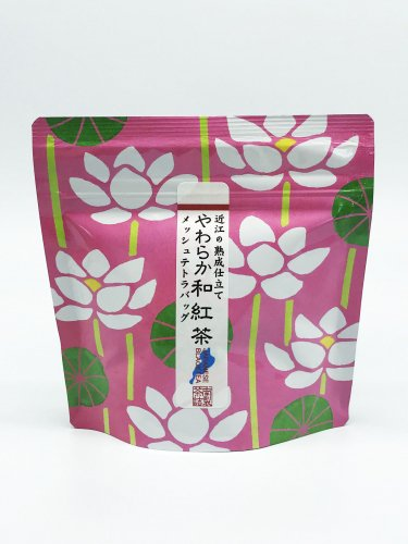 やわらか和紅茶 メッシュテトラパック6P