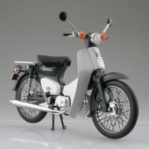Honda Super Cub 1/12スケールDEICAST MOTORCYCLE グリーン