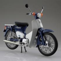 Honda Super Cub 1/12スケールDEICAST MOTORCYCLE ブルー