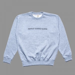 BENTO UPSIDE DOWN LOGO Sweat Gray