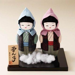 塩沢織木目込人形 雪ん子|塩沢つむぎ記念館