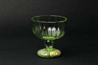 緑礬(ローハ)銀台杯・有松啓介