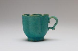 青い花のカップ・財満晋平
