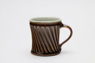 マグカップ(飴釉)・岡崎勉