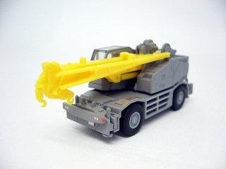 建機コレ02〔シークレットS03〕 コベルコ PANTHER X250(クレーン車/走行中仕様 グレー)