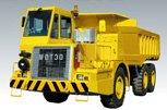 坑内用ダンプトラック MDT30ET2 イエロー