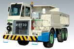 坑内用ダンプトラック MDT30ET2 ホワイト