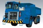 坑内用ダンプトラック MDT30ET2 ブルー