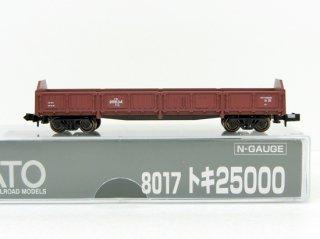 8017 トキ25000 (黒染め車輪)