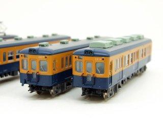 A2482 小田急2400形 旧塗装 冷房改造車 4両セット