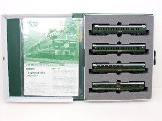 [11月再生産] 10-870 24系寝台特急「トワイライトエクスプレス」 4両増結セット