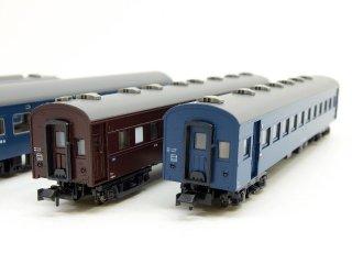 10-1387 寝台急行「つるぎ」7両基本セット