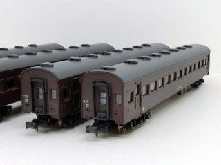 A5721 国鉄オハ62系客車 北海道仕様4両セット