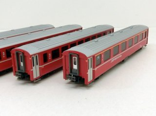 [06月再生産] 10-1414 アルプスの赤い客車 EW�  4両増結セット