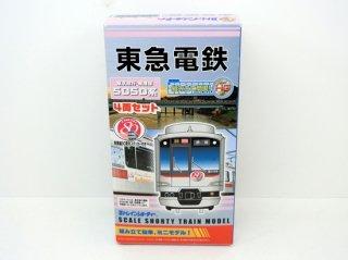東京急行・東横線 5050系 東横線80周年記念ステッカー付 4両セット