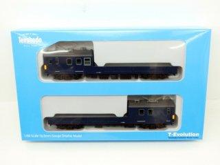 【HO】 天賞堂T-Evolution 65007 クモル145+クル144 2両セット 国鉄タイプ(ユニット窓枠グレー)