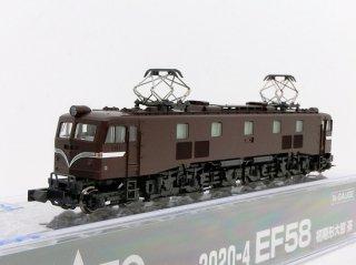 3020-4 EF58 初期形大窓 茶(仕様変更)