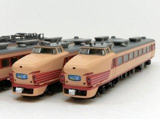 98385 485系特急電車(京都総合運転所・白鳥)基本セットA(5両)