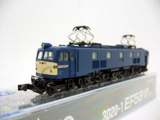 [07月再生産] 3020-1 EF58 後期形 大窓 ブルー