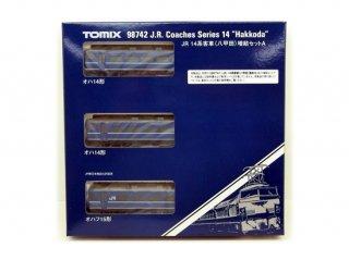 [08月新製品] 98742 14系客車(八甲田)増結セットA(3両)