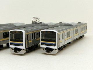 〔モカ割は8/4まで〕[12月新製品] 98765 209-2100系通勤電車(房総色・6両編成)セット(6両)