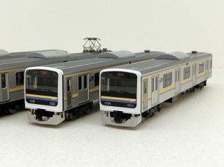 〔モカ割は8/4まで〕[12月新製品] 98766 209-2100系通勤電車(房総色・4両編成)セット(4両)