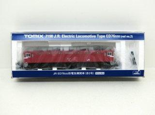 [03月新製品] 7198 <特企>ED76-550形(赤2号)